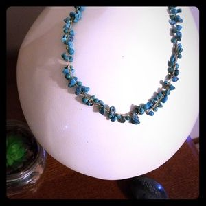 Turquoise  Necklace with earring set